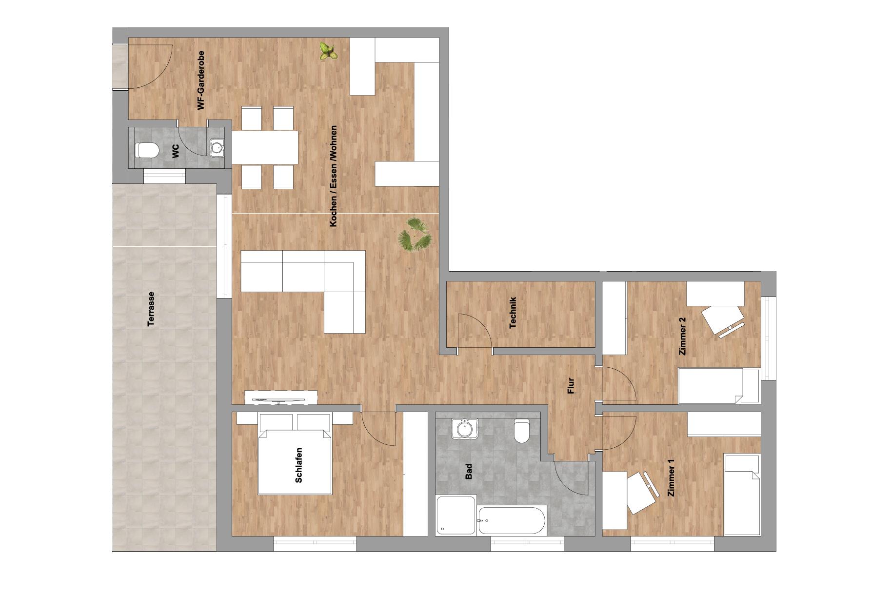 infoScout Neubau Projekt Ittersbach Wohnung 2