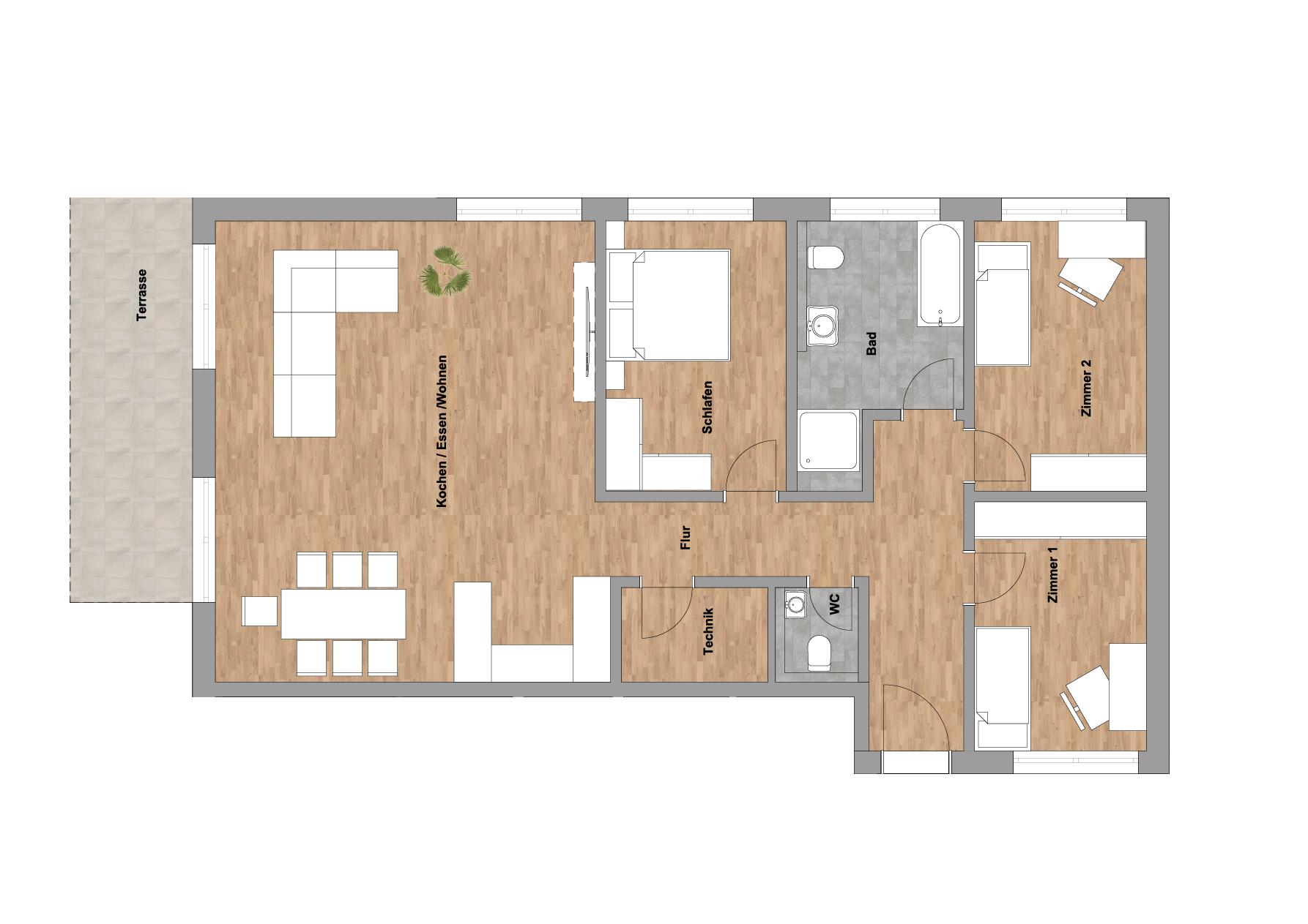 infoScout Neubau Projekt Ittersbach Wohnung 4