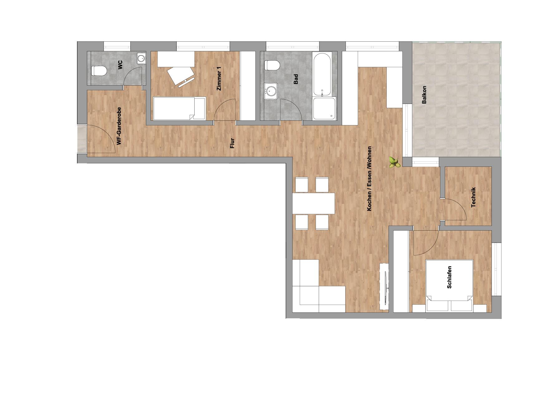 infoScout Neubau Projekt Ittersbach Wohnung 5
