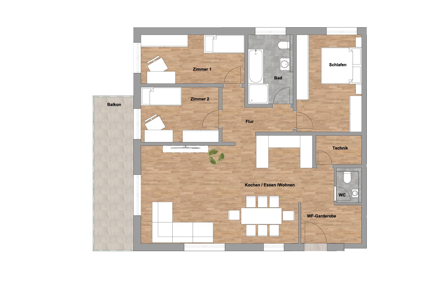 infoScout Neubau Projekt Ittersbach Wohnung 7