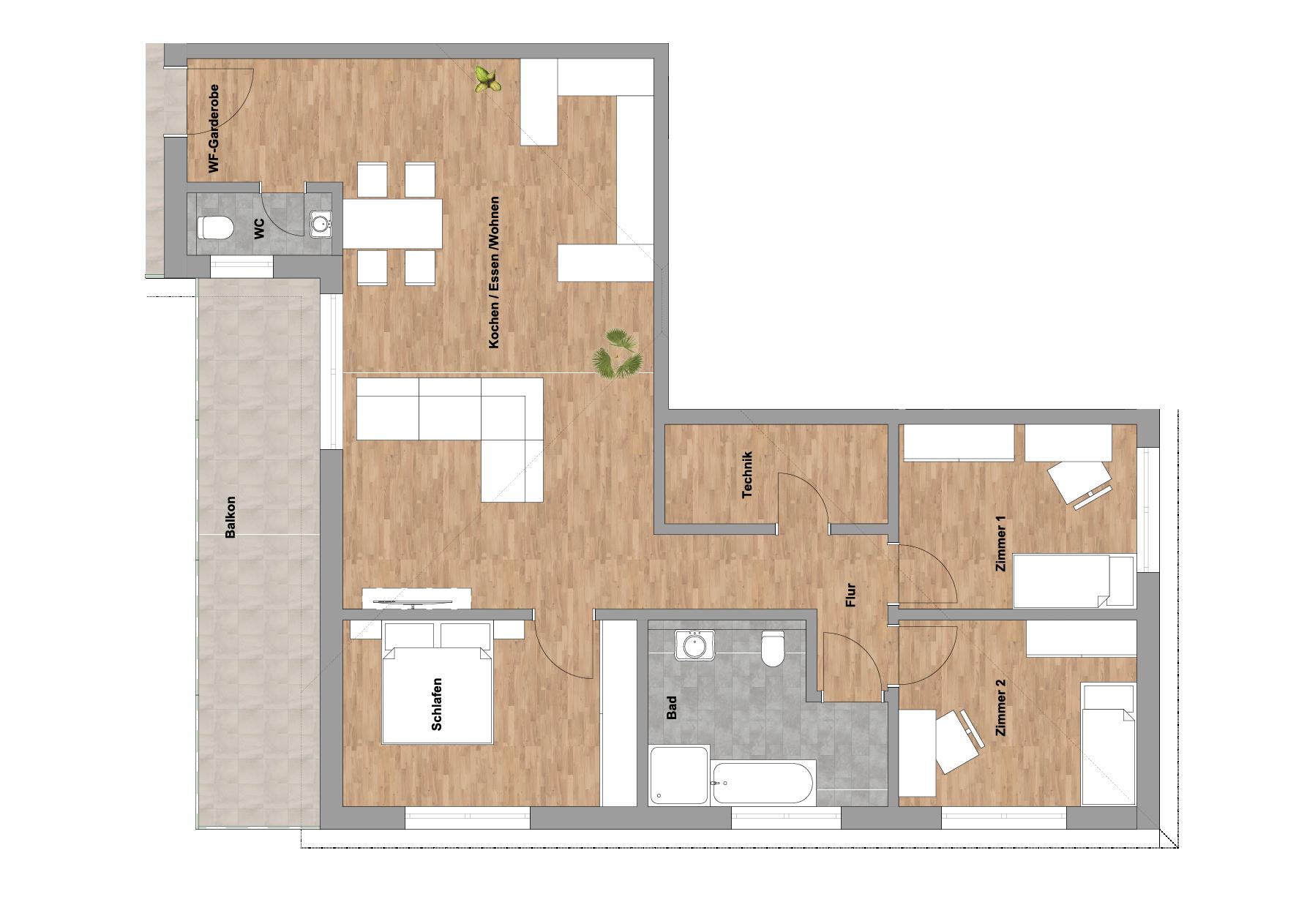 infoScout Neubau Projekt Ittersbach Wohnung 10