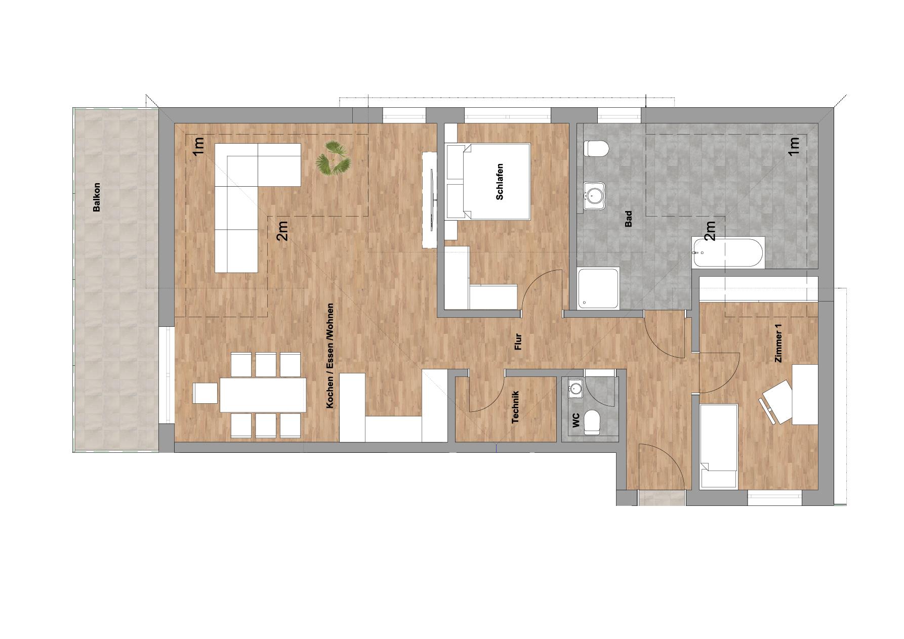 infoScout Neubau Projekt Ittersbach Wohnung 12